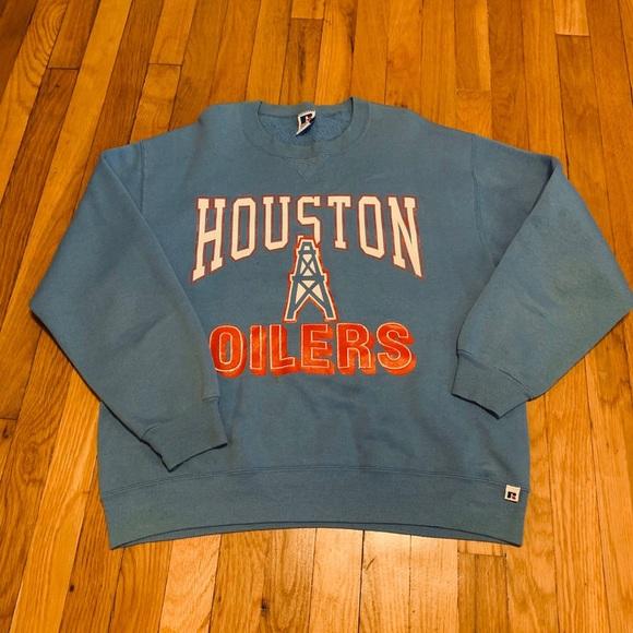 Russell Athletic Sweaters Vintge Houston Oilers Crewneck